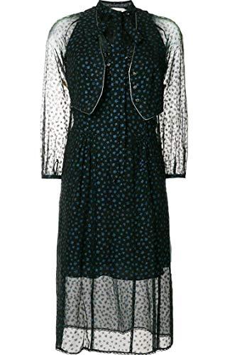 Coach Damen 26572Navy Blau Synthetisch Fasern Kleid