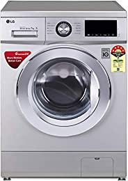 LG 7.0 Kg 5 Star Inverter Fully-Automatic Front Loading Washing Machine (FHM1207ZDL, Luxury Silver, 6 Motion T