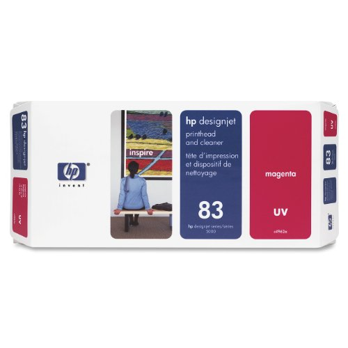 HP C4962A Testina di Stampa UV e Dispositivo di Pulizia 83, Magenta