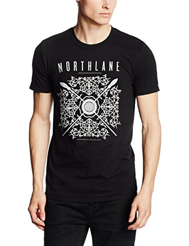 MUSIC Northlane-Aspire, T-Shirt Uomo, Nero, Small