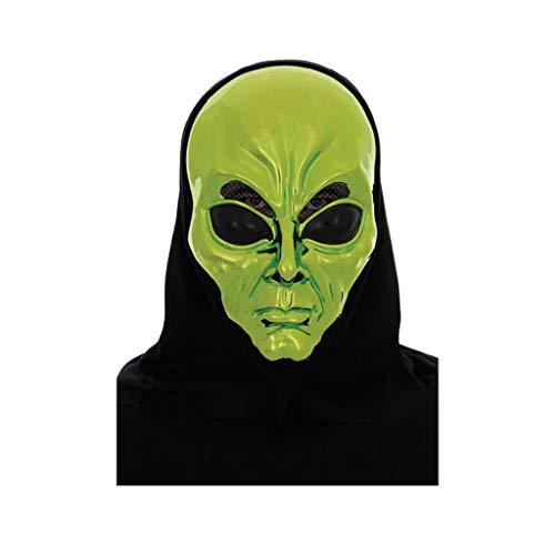 Unbekannt Mask- Kürbis Teufel Zombie Maske Halloween Erwachsene Kind Ghost Masquerade Red Devil Alien (Farbe : C)