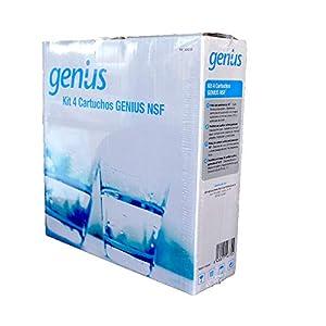 ATH – Recambios osmosis Genius NFS – Cartucho Superior Conexión Directa. Antibacterias 304230