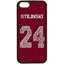 Personalized Protective Hard negro Phone caso case for Funda iphone 7 - Teen Wolf -i7A562