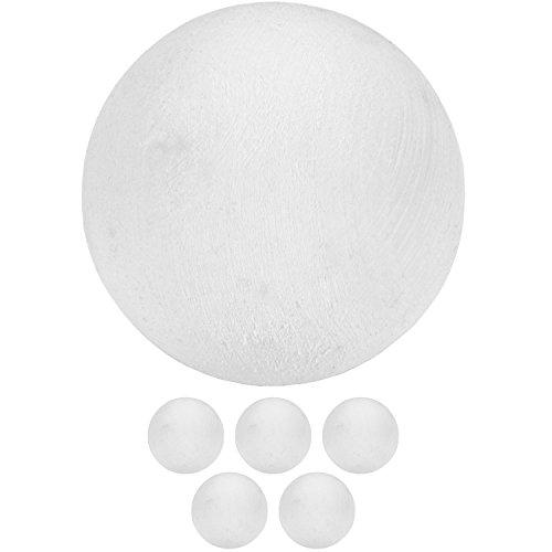 TUNIRO® 5 Stück Kickerbälle, extrem griffig und leise, Tischfussball Ball Kicker Bälle