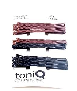 Toniq Classic Set of 20 Everyday wear Bobby Pins (Hair pins)