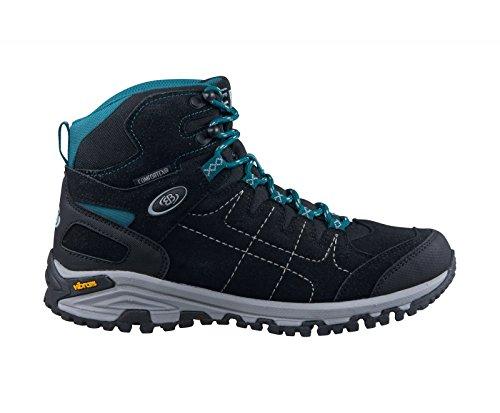 Brütting Damen Outdoor Boots Mount Shasta 221.144 nero / turchese schwarz