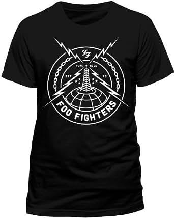 Live Nation - T-shirt Homme Foo Fighters - Black Strike - Noir (Black) - Large