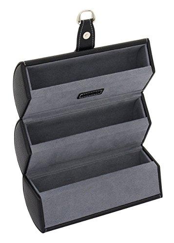 Friedrich|23 Unisex-Schmuckrolle Bond Brillenrolle Kunststoff schwarz - 20087-2