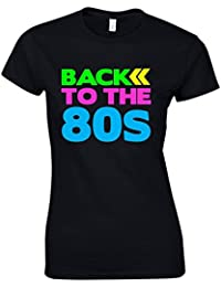 Direct 23 Ltd Back To The 80s Ladies T-Shirt