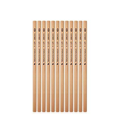 12 Stücke Dreieck 2HB Bleistift Holz Blei Bleistift Skizzieren Zeichnung Bleistift Schulversorgung HB 12 PC