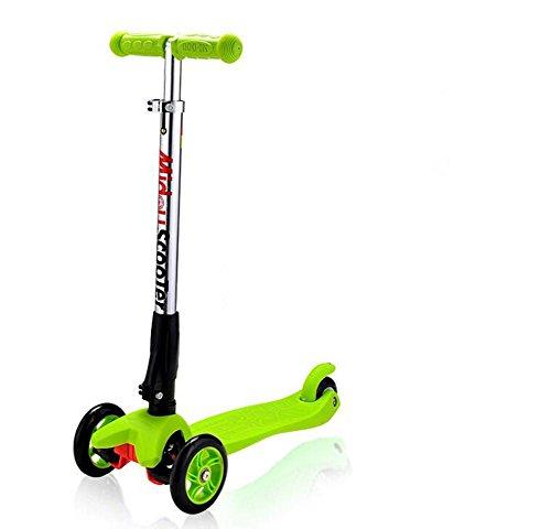 HJXJXJX Drei Farben optional Falten lifting Kinder Falten Roller , green