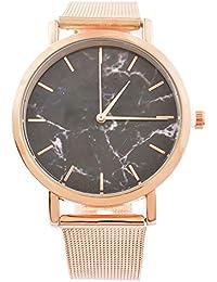 SSITG Reloj analógico para Mujer Hombre Reloj de Cuarzo Reloj de Pulsera Elegante Regalo Wrist Watch