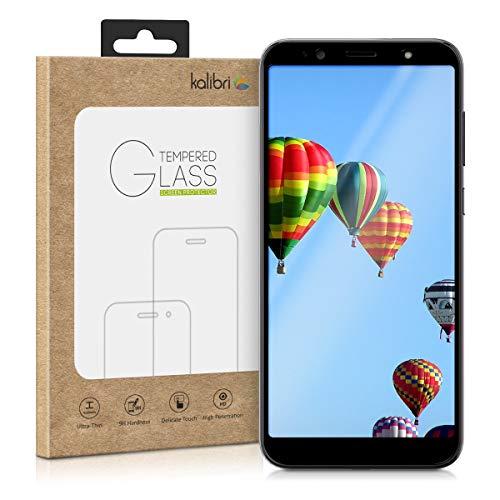 kalibri HTC U12 Life Folie - 3D Glas Handy Schutzfolie für HTC U12 Life - Auch für gewölbtes Bildschirm