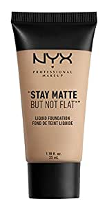 NYX Stay Matte But Not Flat Liquid Foundation - Medium