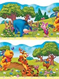 Produkt-Bild: selbstklebende Tapeten-Borte / Bordüre Winnie the Pooh 5 m lang, 214 mm hoch