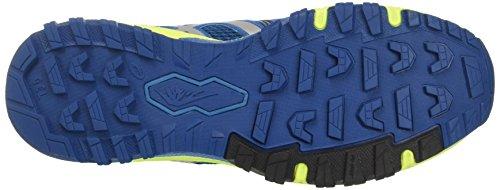 Asics Herren Gel-Fujiattack 5 Traillaufschuhe Blau (Thunder Blue/silver/safety Yellow)