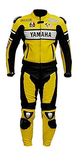 Corso Fashion Yamaha Herren-Motorradanzug aus Leder, CE-Schutz, Bikeranzug, maßgefertigt Gr. Medium, Mehrfarbig