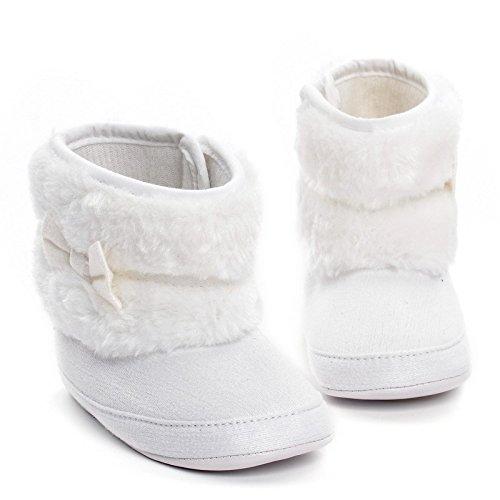 Baby Mädchen Warm Winter SchneestiefelKrippe Schuhe Kleinkind Stiefel