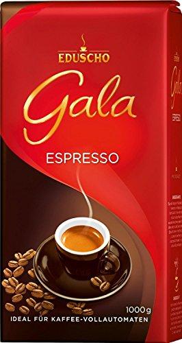 Eduscho - Gala Espresso Kaffe Röstkaffee Café - 1kg