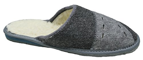 gibra , Chaussons pour homme Anthracite