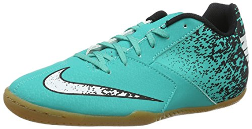 Nike Bombax Ic, Chaussures de Foot Homme Vert (Clear Jade/White/Black)