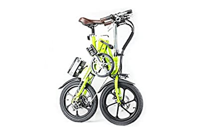 KwiKfold® Folding Electric bike Shimano Gears