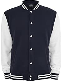 Urban classics veste pour homme pour homme college 2 tons tB207 coupe regular fit