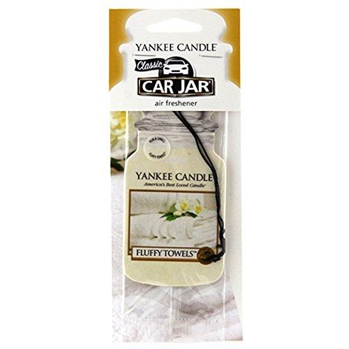 Yankee Candle Car Jar Single Fluffy Towels,