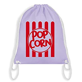 Karneval & Fasching - Popcorn Karneval Kostüm - Unisize - Pastell Lila - WM110 - Turnbeutel & Gym Bag