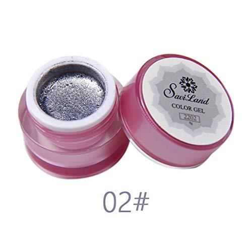 Vernis Semi Permanent UV Gel -Couleur Change Température UV LED Vernis à Ongles Gel Soak Off Kit 4 x 8ml Nail Art