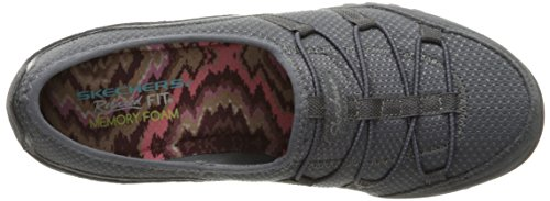Skechers Damen Breathe-Easy-Blithe Sneakers Grau (Ccl)