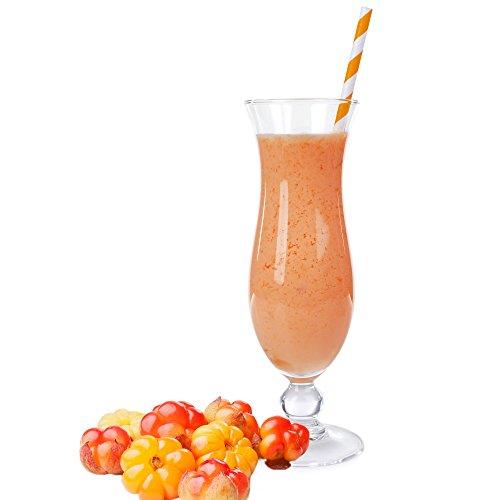 Skandinavische Früchte Geschmack Eiweißpulver Milch Proteinpulver Whey Protein Eiweiß L-Carnitin angereichert Eiweißkonzentrat für Proteinshakes Eiweißshakes Aspartamfrei (10 kg)
