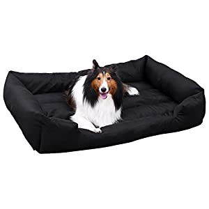 Songmics Panier lit chien Dog Bed Coussin Matelas pour chien XXL 120x85x30cm PGW30H