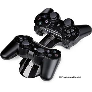 Speedlink Bridge Ladestation für Playstation 3/PS3 Controller (aufladbar per USB oder Netzteil, Ladezeit ca. 2,5 Stunden)