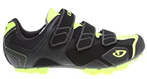 CARBIDE MOUNTAIN CYCLING SHOES BLACK/YELLOW 45
