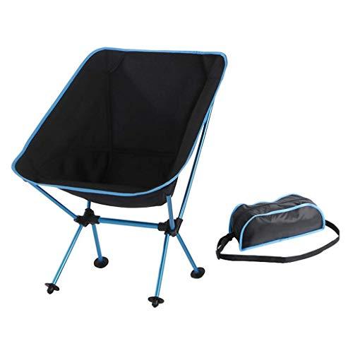 Zaihw sedia da campeggio portatile, pieghevole sedia da campeggio portatile leggero per escursioni all'aria aperta pesca picnic beach (capacità 300lb)