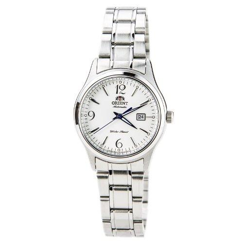 Orient Ori-4668 - Reloj de pulsera mujer, acero inoxidable, color plateado