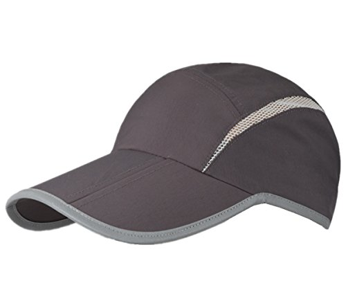 Decentron Foldable Mesh Quick Dry Sports Sun Hat Breathable Outdoor Running Cap