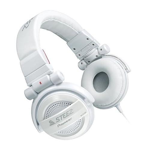 Pioneer SE-D10M-W STEEZ Casque audio pliable de type fermé Blanc