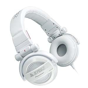 Pioneer Steez SE-D10M-W Kopfhörer mit wechselbaren Ohrkissen weiß