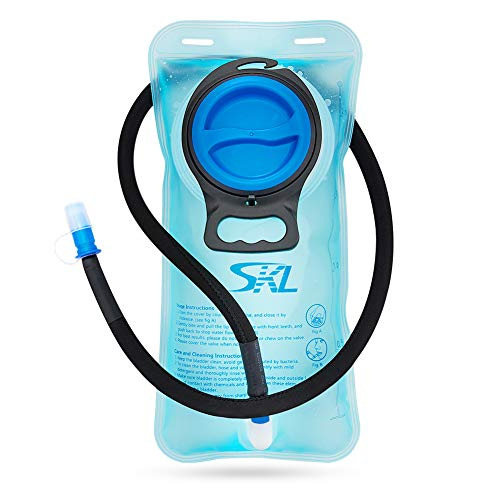 Portable 2 liter water hydration bag authorized FDA Bolsas de agua tadellos de burb en Espacios Exteriores SKL WB001