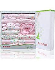 DOTMOM Newborn Clothes Cotton Gift Set for Baby Shower