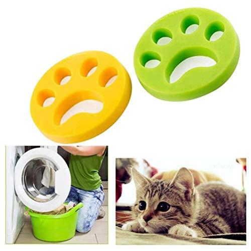 Removedor de Pelo para Mascotas de 2 Piezas para lavandería - Reutilizable...