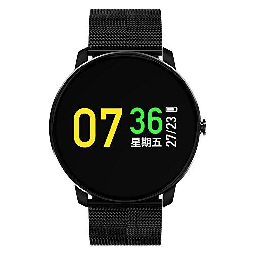 41zeN0OLApL. SS500  - Jersh Electronic Smart Watch,High Quality Color Screen Fine Steel Strap Multifunction Smart Bracelet Fitness Tracker Unisex Activity Tracker Temperament Smart Watch
