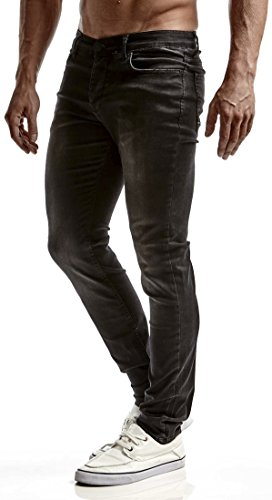LEIF NELSON - Jeans - Homme Schwarz