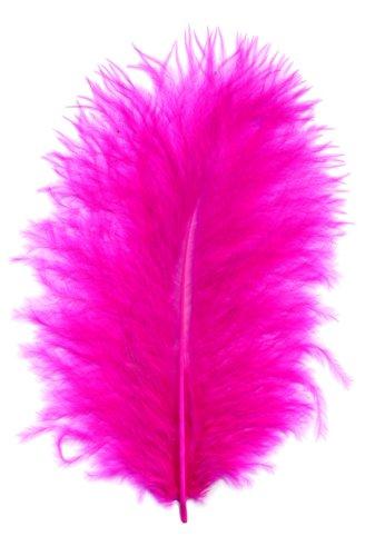 Marabu Federn verschiedene Farben, Farbe:fuchsia