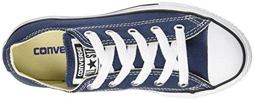 Converse Chuck Taylor All Star Core Ox Scarpe Sportive, Unisex Bambino Blu (Navy)