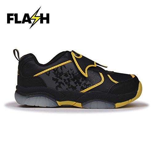 Character Light Ups Kinder Leuchtend Turnschuhe Blink Sportschuhe Sneaker Batman C11 (29)