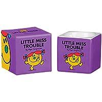 MR Men and Little Miss 6x 5,7x 5,7cm LM Trouble Huevera, color morado