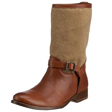 Frye Women's Melissa Short Boot Cognac 77105COG11 9 UK D